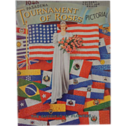 1946 Tournament Of Roses Pictorial Pasadena