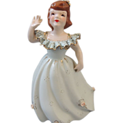 Florence Ceramics Young Girl Figurine