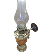 Sherwood Ship Oil Lamp