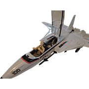 G I Joe Sky Striker Plane