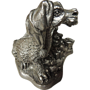 Michael Ricker Pewter Santa Dragon