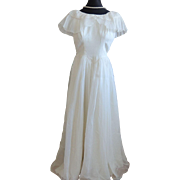 Vintage Kay Selig Tulle Wedding Dress