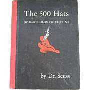 1938 Dr. Seuss The 500 Hats