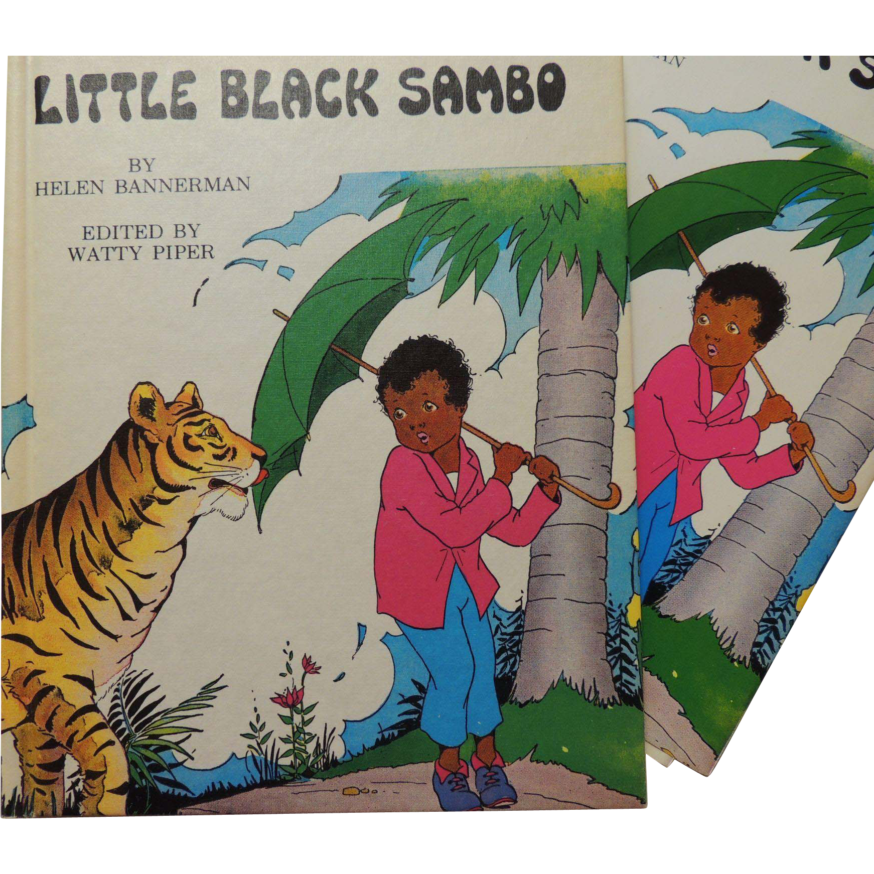 Little Black Sambo Book from handtoheartantiques on Ruby Lane