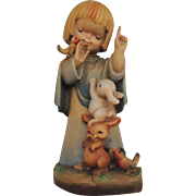 Anri Figurine Talk To The Animals