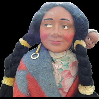 1940s Skookum Doll