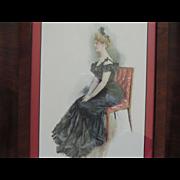 Vintage Howard Chandler Christy Print