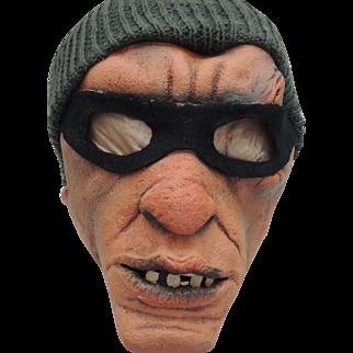 Vintage Thief Halloween Mask Be Something Studios