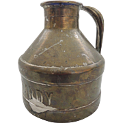 Watt Hardy Dairy Cream Can Milk Jug
