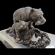 Michael Ricker Pewter Sculpture