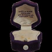 Vintage Ring Presentation Box
