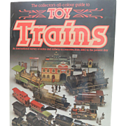 Collectors Guide Toy Trains by Ron McCrindell