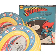 Superman Record The Flying Train 1947
