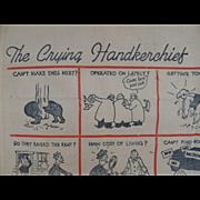 Handkerchief The Crying Handkerchief