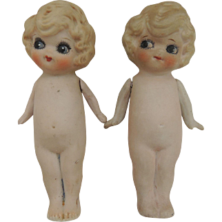 2 Bisque Dolls