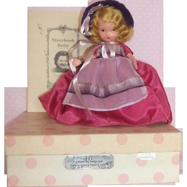 Nancy Ann Story Book Bisque Doll MIB Fairy Land Series