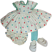 1950's Tagged Ginger Outfit