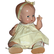 "1930's 10"" Arranbee - Dream Baby w/Bent Knees and Accessories"