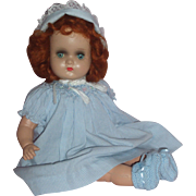 "1940's 15"" Unmarked Composition Mama Doll"