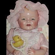 "Dreamy E.I. Horsman 19"" Baby Dimples - c1928"