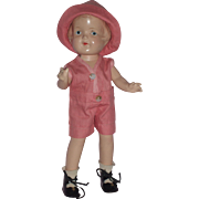 "Arranbee - 12"" Composition Nancy Doll in Original Outfit c1930's"