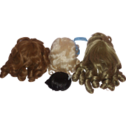 4 - Vintage Wigs for your Dolls