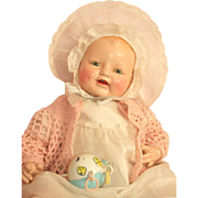 "22"" Baby Dimples – Composition Doll by E.I. Horsman c1928 - Red Tag Sale Item"