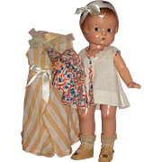 "Sweet Little 13"" Effanbee Patsy Doll in Factory Made Outfit –c1930's"