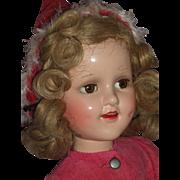 "Beautiful Madame Alexander – 18"" Sonja Henie Doll – A/O c1930's"