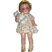 "Darling 1920's 13"" E.I. Horsman Jane Doll"