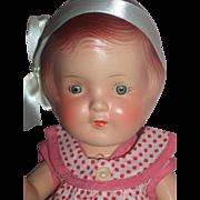 """Minty 1920's - A/O - 12"""" Arranbee """"Nancy Doll"""" w/Extra Outfit"""