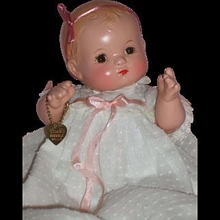"10"" Effanbee Patsy Baby w/bent knees C1930's – Beautiful Coloring!"