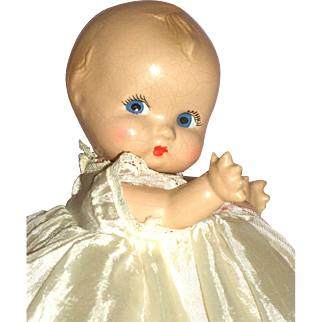 """A/O – Eugenia Doll 8"""" Composition Baby Doll – Just As Sweet As Can Be!!!!"""
