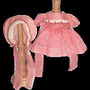"1940's Dress for 16"" Effanbee Patsy Joan Doll - Original & Untagged"