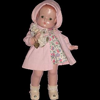 "Adorable little 13"" Patsy Ann Doll - A/O c1930's"