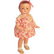 "All Original 19"" Effanbee Patsy Ann Doll c1929"