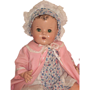 "Sweet 18"" Arranbee Composition Mama - Baby Doll c1940"