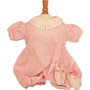 Tagged Effanbee Baby Doll Romper for Large Doll - AS IS