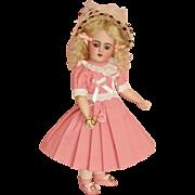 """Darling Petite 12"""" Simon & Halbig Santa, DEP Mold - All in Pink"""