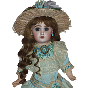Fabulous Size 6 Tete Jumeau Doll in Vintage French Style Costume