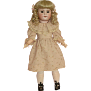 "Sweet 22"" Simon & Halbig Child Doll M550 in Darling Pink Dress!"
