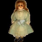 Adorable wax shoulder plate girl doll original clothes