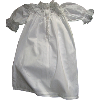 Charming hand made antique doll dress