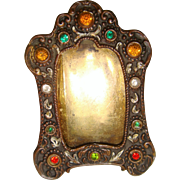 Miniature jeweled frame