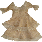 Lace trimmed pretty dress for FF doll