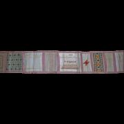 Antique sampler work by S.Kingsnorth