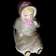 Adorable bisque child figure