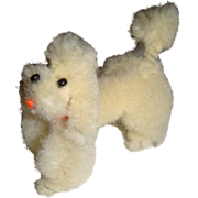 Delightful miniature poodle for FF doll