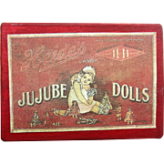 Jujube dolls box with pictures of toys