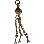 Chatelaine with keys for FF doll